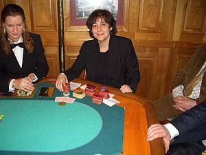 Die glückliche Zweitplatzierte Soraya Homam