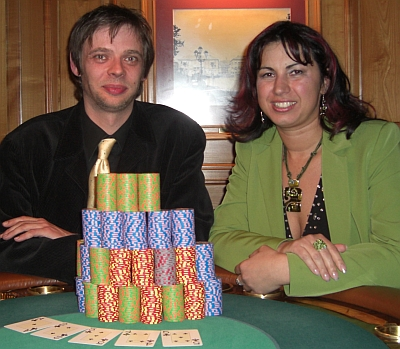 Die Gewinner Matthias Himberg (1) und Manuela Horian (2)