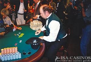 T.J Courtier am Finaltisch der WSOP