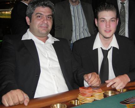 Erdal Kücük (li) und Marko Kuncic