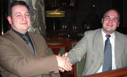 Patrick Busch (li.) und Timo Strohmenger