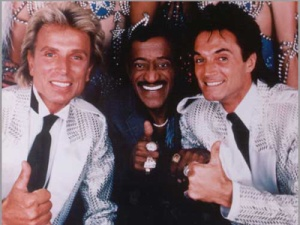 Siegfried und Roy, Sammy Davis JR