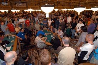 Hunderte von Pokerspieler im Rio Las Vegas