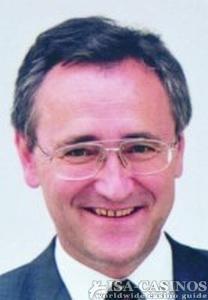 Klaus Walkenbach, Geschäftsführer der<br>Brandenburgischen Spielbanken