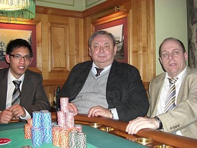 Huy Nguyen (2), Karl-Heinz Hoffmann (1) und Harald Ebert (3)