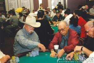 Pokerspieler bei der  WSOP in Las Vegas