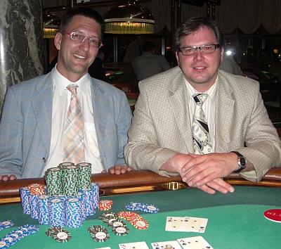 Stephan Jancar (1) und Oliver Fronius (2)