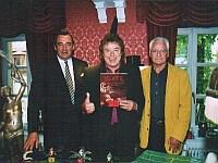 v.l.n.r. K. Busch, Tony Marshall,<br>G. Steeb