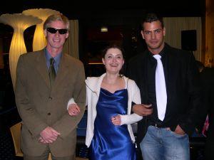 V.l.n.r. Herr Boris Mayer (1.), Frau Katia Tischler (2.),<br />Herr Christian Laun (3.)