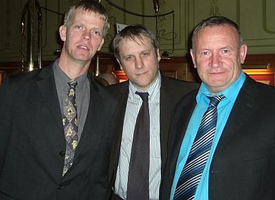 Ralf Werner, Daniel Matissek und  Gerd Wandel (vlnr)