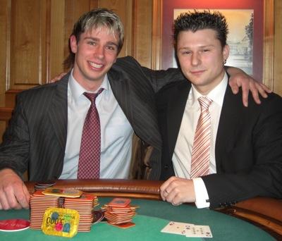 Florian Röhr (links) und Andreas Orians