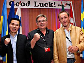 Jan Bitsch Pedersen aus Dänemark <br>ist der neue Poker Europameister 2005