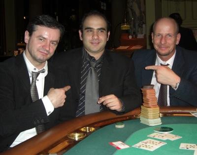 V.l.n.r. Tomasz-Jan Kopec, Milad Shakiba und Klaus Lermig