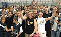 Besucher der Games Convention<br> in Leipzig