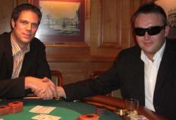 Herr Brenk (li.) und der Sieger<br> Herr Schumacher
