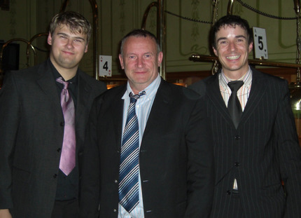 v.l.n.r. Ulf Fandrich, Gerd Wandel und Christian Maurer