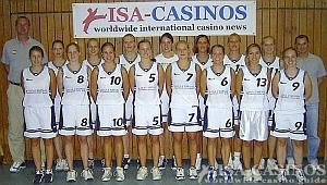 Damen Basketball Mannschaft Pinneberg