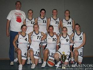 Damen Basketball Mannschaft Pinneberg<br>Sieger im Pokal Turnier Hamburg