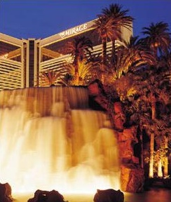 Mirage-Hotel in Las Vegas<br>Quelle mirage.com