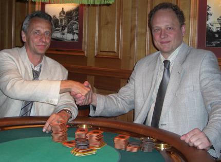 Hermann Lodes (li.) und Christoph Best