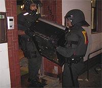 77 Beamte waren im Einsatz<br> (Foto pol)