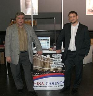 Reinhold Schmitt und Ulli Schmitt <br>ISA-CASINOS