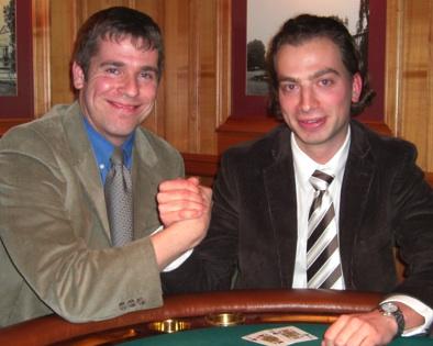 Thomas Cestaric (li.) und Jochen Reith