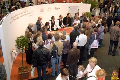 Brandenburgische Spielbanken auf der ITB 2008 (Foto BSB)