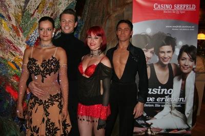 V.l.n.r. Claudia Obmascher, Marvin, Christina Mair und Peter Schaur