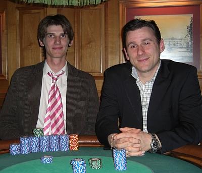 Jens Weigel (1) und Konstantin Tselios (2)