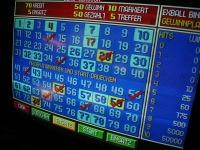 Bingo-Glücksspielautomat<br>in der Spielbank Cottbus
