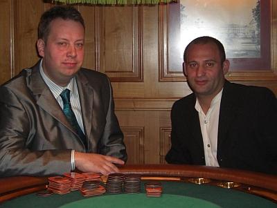 Patrick Chandler (li) und Ayelin Cetin