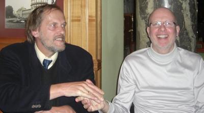 Jurgen Schmidt (li) und Horst Mittmann