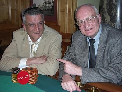 Die Gewinner Pritpal Maini (links) und Hans-Jürgen Meysel
