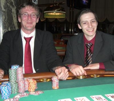 Max-Jens Ebert (1.) und Andreas Lenz (2.)