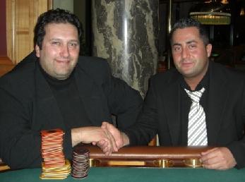 Giuseppe Bruno (li) und Siamak Tooran