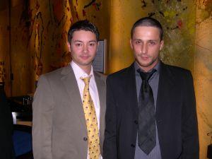 Herr Sven Stemme (links) und Herr Murat Yazici