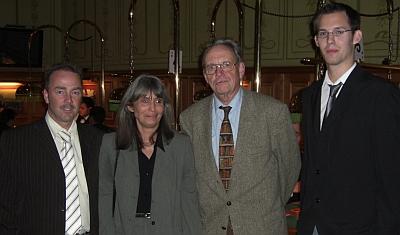 Heinz Traut (1), Regina Liesy (5), Karl Eschmann (3) und André Lollert (2) (vlnr)