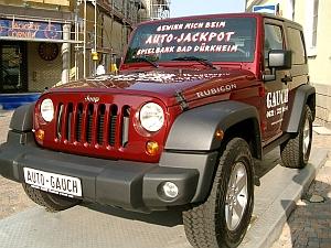 Der neue Gewinn am Mystery-Jackpot Jeep Wrangler