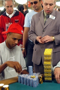 Phil Ivey am Poker Tisch