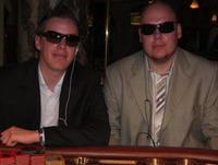 Brian Corvers (li) und Christian  Heck