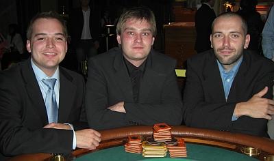 Alexander Rommer, Björn Eitelbuss und Alexander Witsch (vlnr)