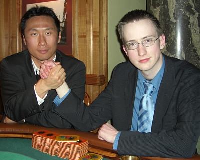 Keun-Woong Suk (2.) und Björn Störmer (1.)