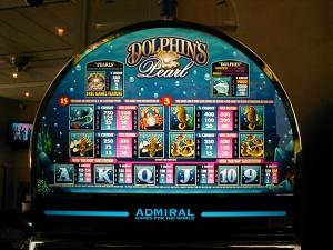 Glücksspielautomat in der Spielbank Potdam