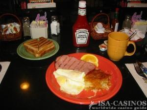 Unschlagbar günstig Ham and Egggs für 99 Cents