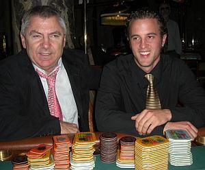 Manfred Hammer (li) und Jean-Michel Kleemann