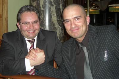 Uwe Krumm (1.) und Goran Jevric (2.)