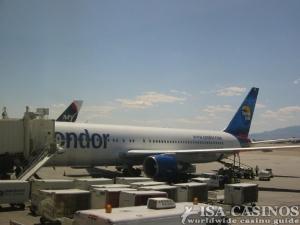 Unser Flugzeug die Condor
