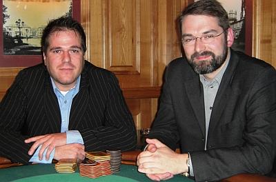 Uwe Göttfert (links) und Daniel Wichmann