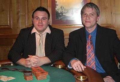 Marco Natalino (1) und Manfred Wollersheim (2)
